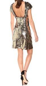 NWT Sequin Cap Sleeve Sheath Dress